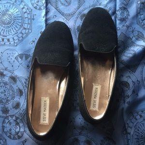 Suede Steve Madden slip on shoes